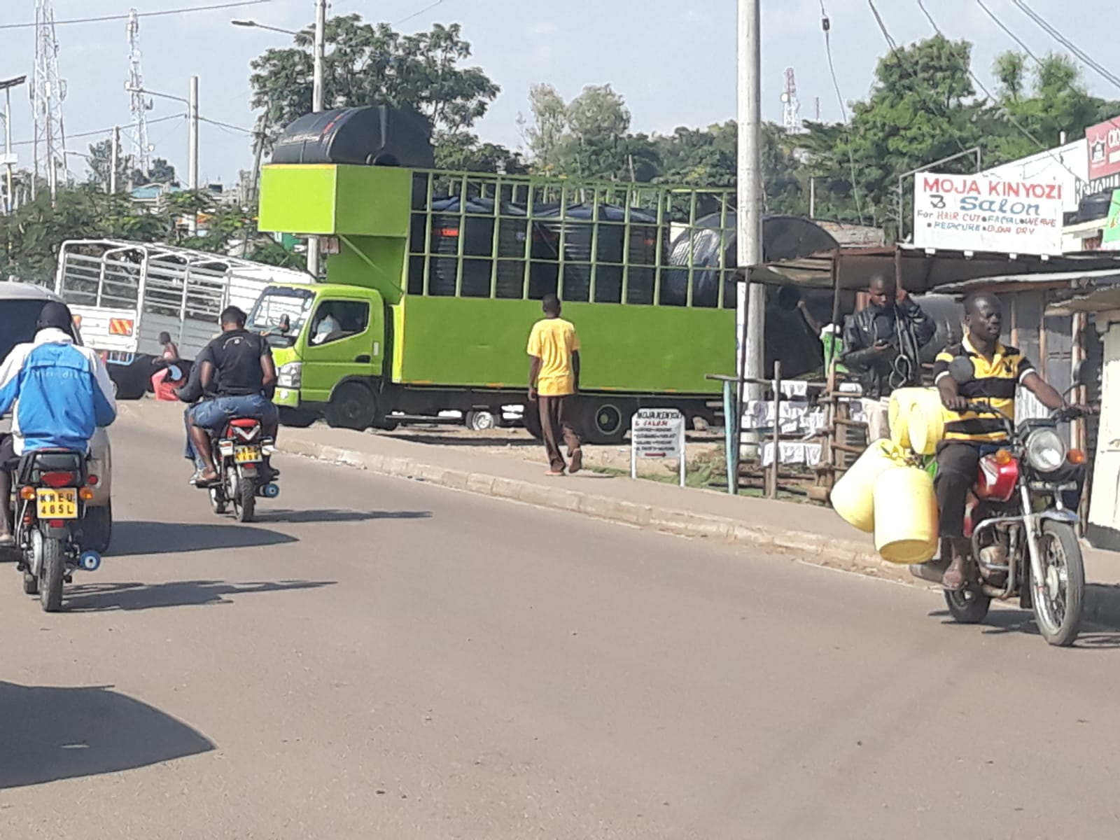 Homabay Town water delivery